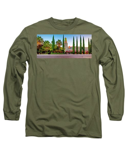 Tower Cafe Dusk- Long Sleeve T-Shirt