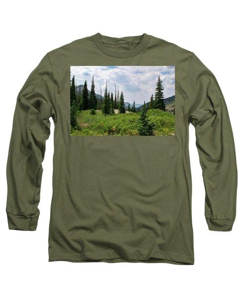 Trail To Gilpin Lake Long Sleeve T-Shirt