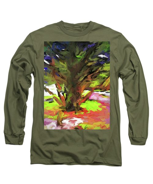 Tree With The Open Arms Long Sleeve T-Shirt