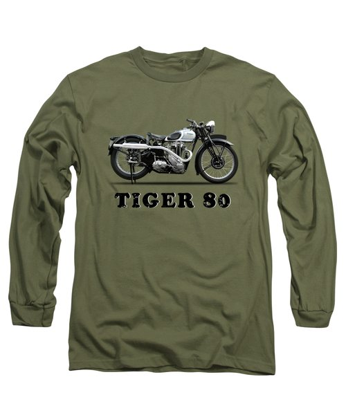Triumph Tiger 80 - 1937 Long Sleeve T-Shirt