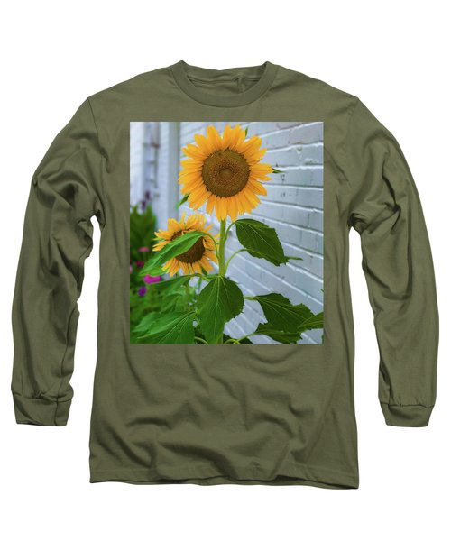 Urban Sunflower Long Sleeve T-Shirt