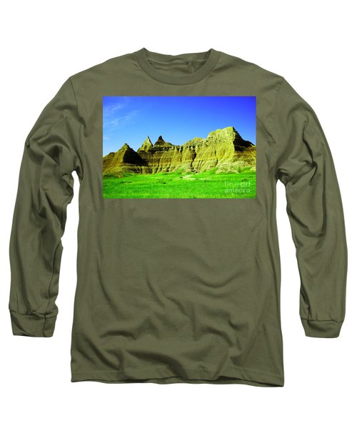 View Of The Badlands Long Sleeve T-Shirt