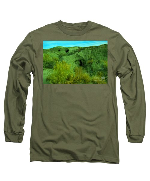 View Within The Bisti Badlands Long Sleeve T-Shirt