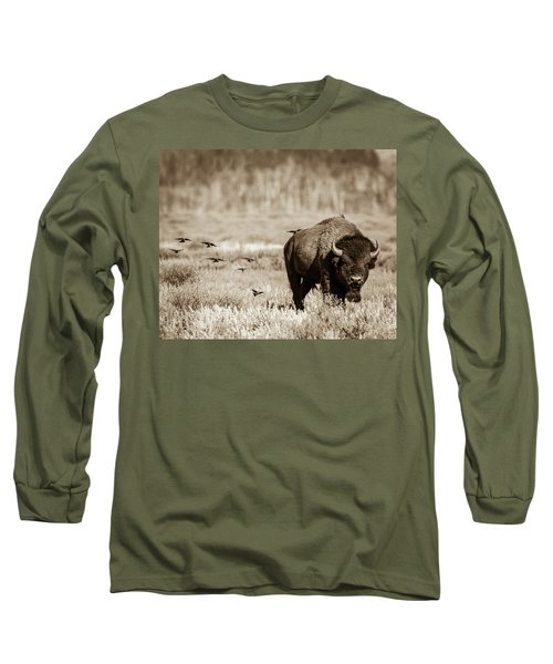 Long Sleeve T-Shirt featuring the photograph Wait For Us by Mary Hone