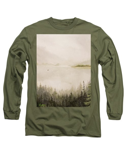Waiting For The Eagle To Come Long Sleeve T-Shirt