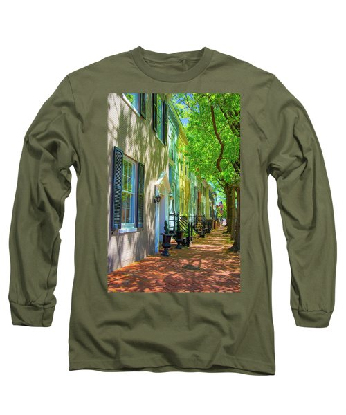 Walking On Duke Street Long Sleeve T-Shirt