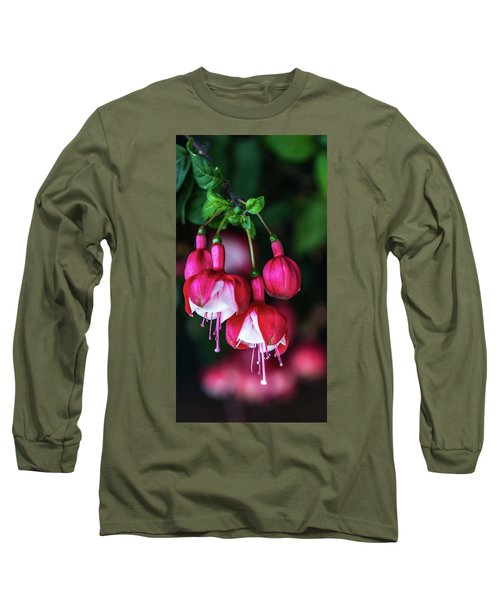Wallpaper Flower Long Sleeve T-Shirt