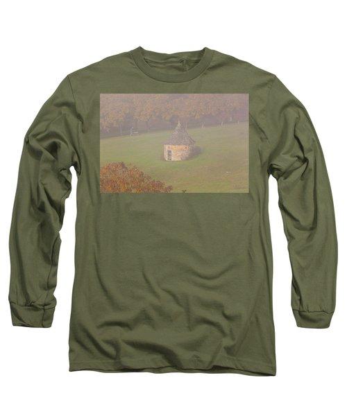 Walnut Farmers, Beynac, France Long Sleeve T-Shirt