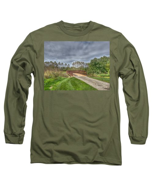 Walnut Woods Bridge - 2 Long Sleeve T-Shirt