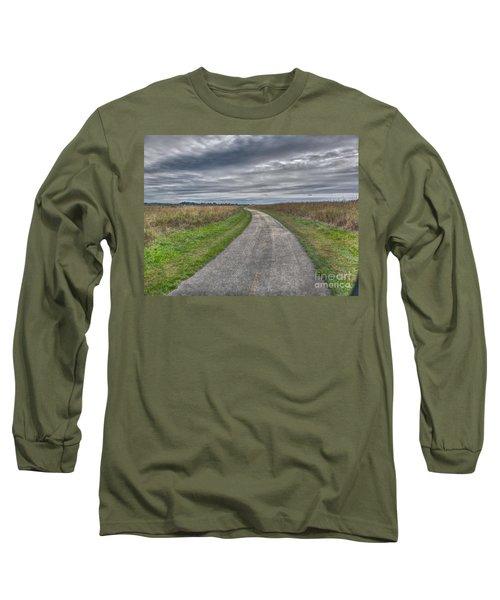 Walnut Woods Pathway - 1 Long Sleeve T-Shirt