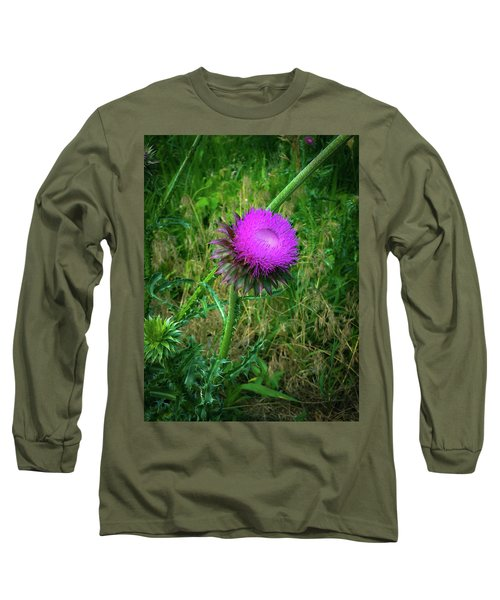 Wanna Be In Scotland Long Sleeve T-Shirt