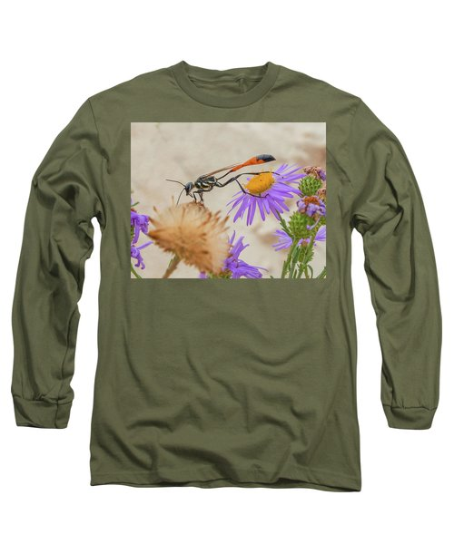 Wasp At White Sands Long Sleeve T-Shirt