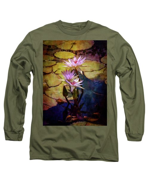 Waterlily Bouquet 2922 Idp_6 Long Sleeve T-Shirt