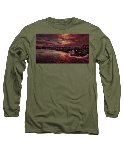 Wave At The Pier Long Sleeve T-Shirt