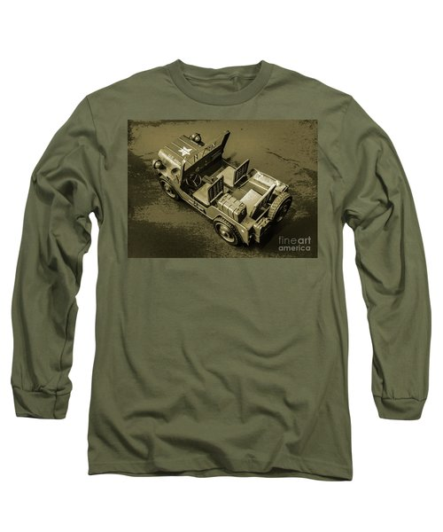 Weathered Defender Long Sleeve T-Shirt