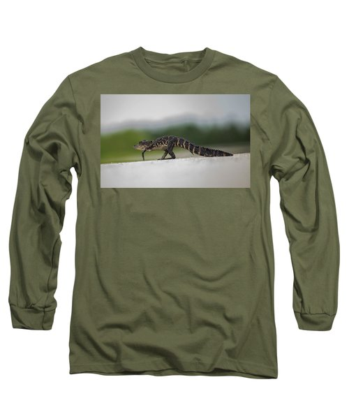 Why Did The Gator Cross The Road? Long Sleeve T-Shirt