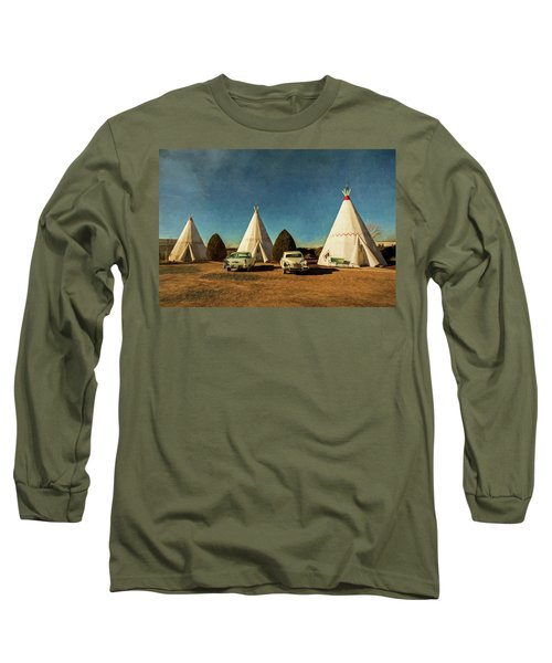 Wigwam Hotel Long Sleeve T-Shirt
