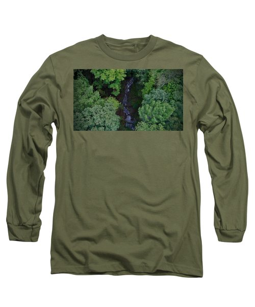 Willow Run Creek Long Sleeve T-Shirt