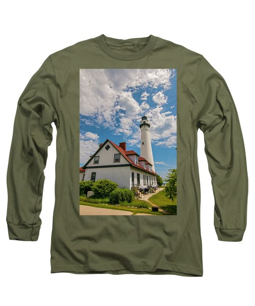 Wind Point Lighthouse No. 2 Long Sleeve T-Shirt