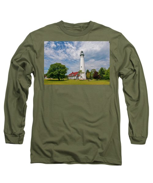 Wind Point Lighthouse No 3 Long Sleeve T-Shirt