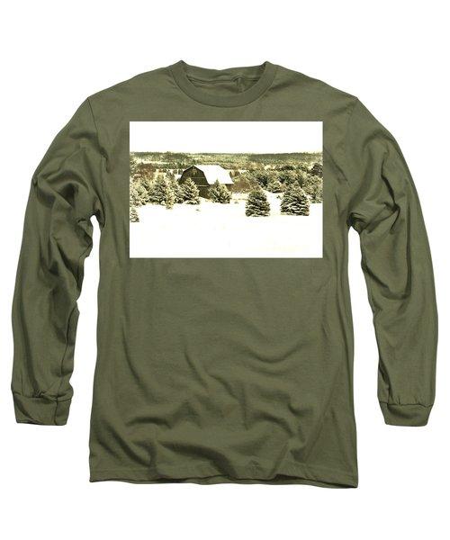 Winter Barn Long Sleeve T-Shirt