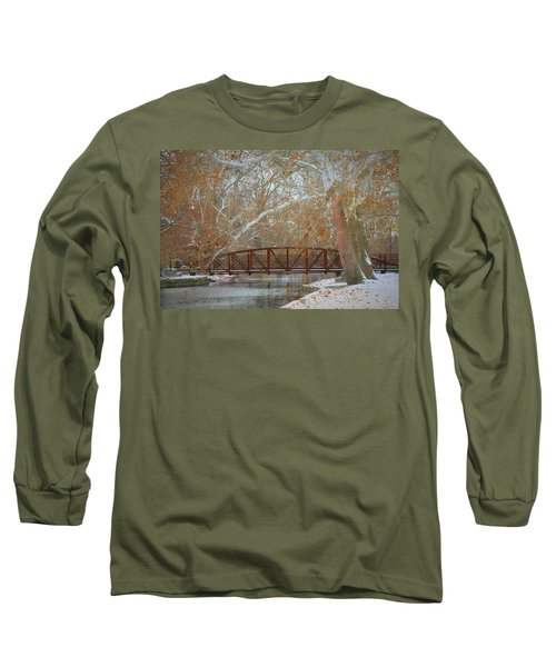Winter Sycamores Long Sleeve T-Shirt