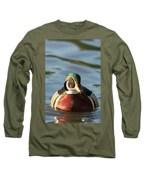 Wood Duck 3 Long Sleeve T-Shirt