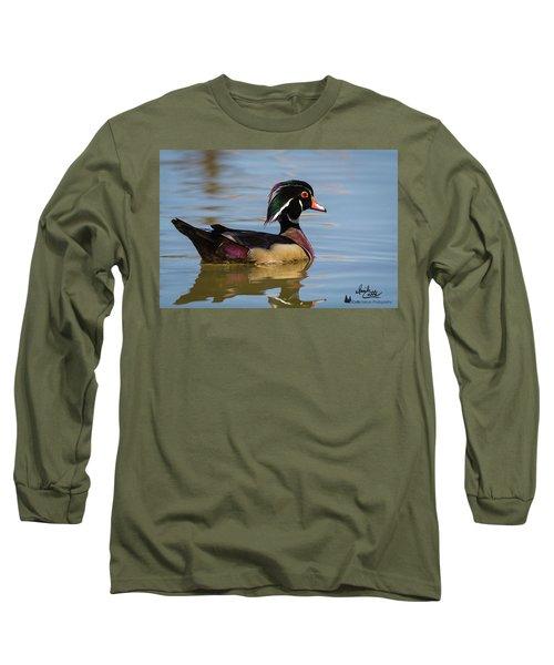 Wood Duck In Dallas Long Sleeve T-Shirt