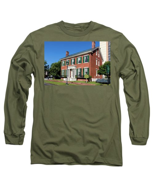 Woodrow Wilson Boyhood Home - Augusta Ga 3 Long Sleeve T-Shirt