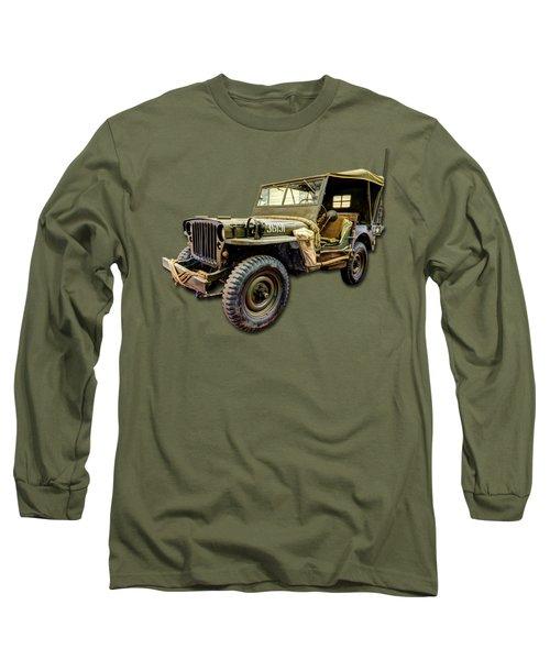 Ww2 Jeep Long Sleeve T-Shirt