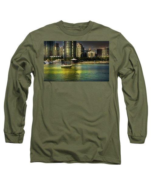 Yaletown Sunset Long Sleeve T-Shirt