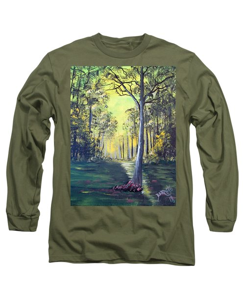 Yellow Forrest Long Sleeve T-Shirt