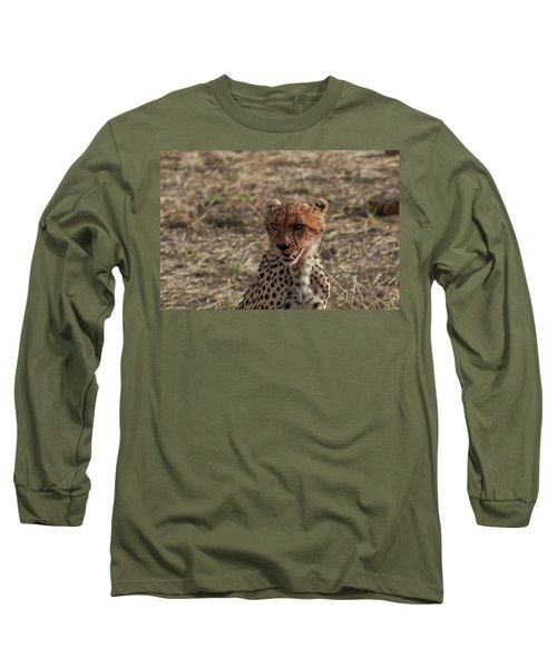 Young Cheetah Long Sleeve T-Shirt