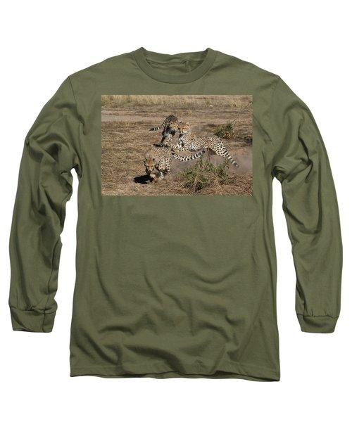 Young Cheetahs Long Sleeve T-Shirt