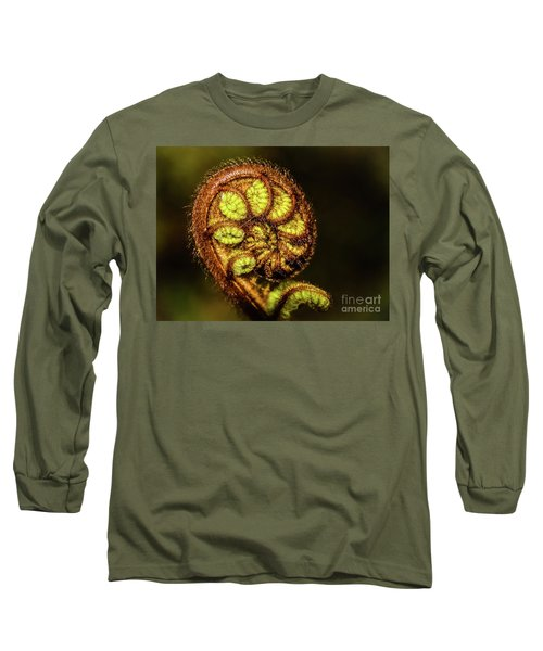 Young Fern Leaves Long Sleeve T-Shirt