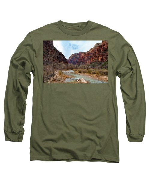 Zion Canyon Long Sleeve T-Shirt
