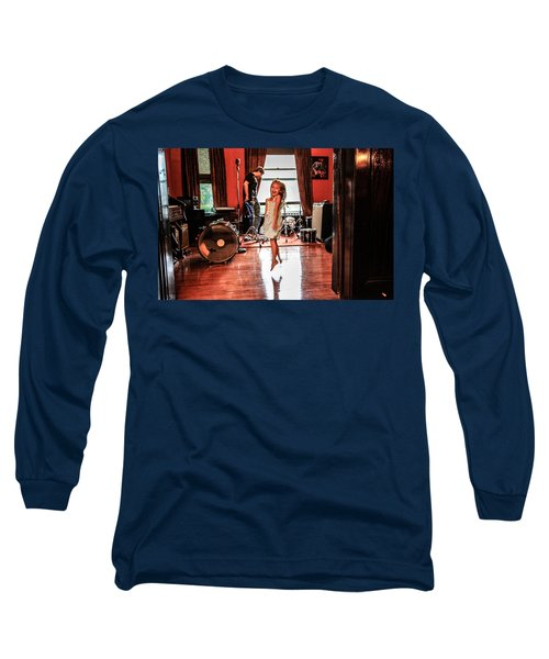 Brooklyn Dancing Long Sleeve T-Shirt by Ray Congrove