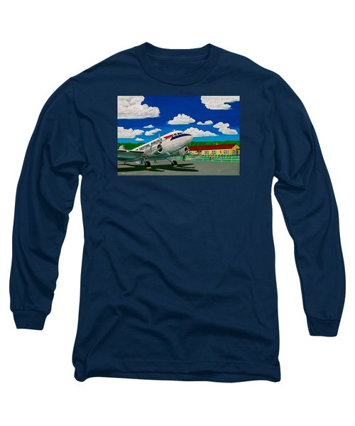 Portsmouth Ohio Airport And Lake Central Airlines Long Sleeve T-Shirt