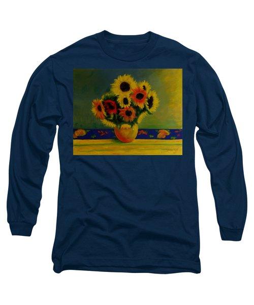 Summer Sunflowers  Long Sleeve T-Shirt