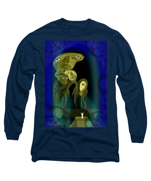 028 -  The  Arrival Of The Gods  Long Sleeve T-Shirt