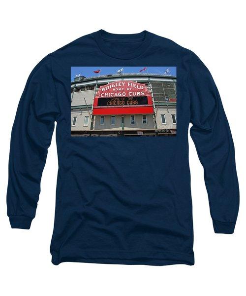 0601 Wrigley Field Long Sleeve T-Shirt