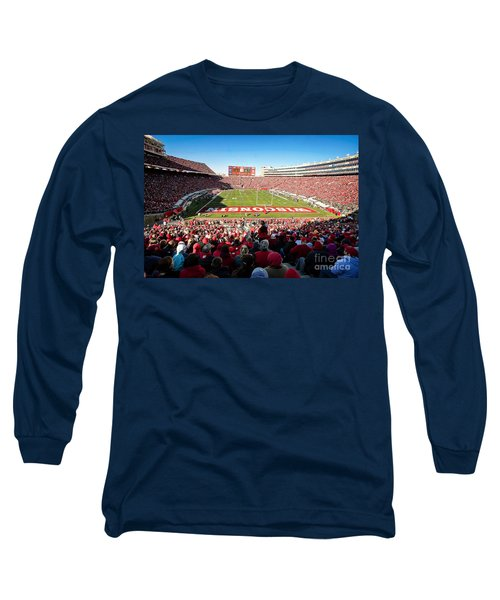 0814 Camp Randall Stadium Long Sleeve T-Shirt