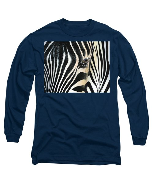 Long Sleeve T-Shirt featuring the painting A Moment's Reflection by Mike Brown