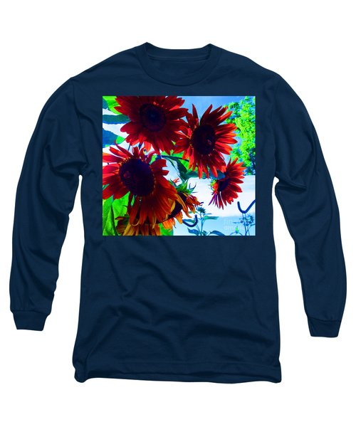 Long Sleeve T-Shirt featuring the photograph All Together Now by Tina M Wenger