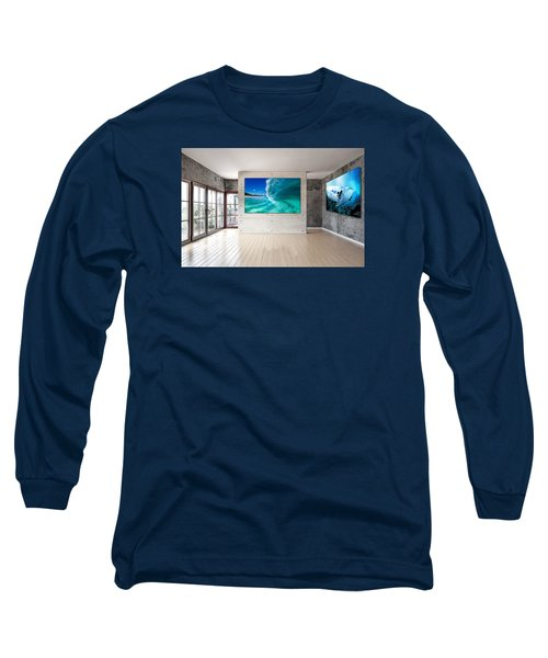 Barrel Swirl Long Sleeve T-Shirt