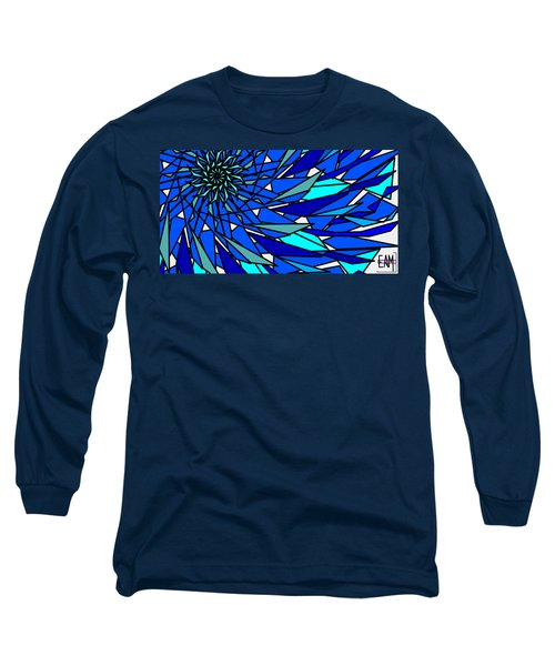 Blue Sun Long Sleeve T-Shirt by Elizabeth McTaggart