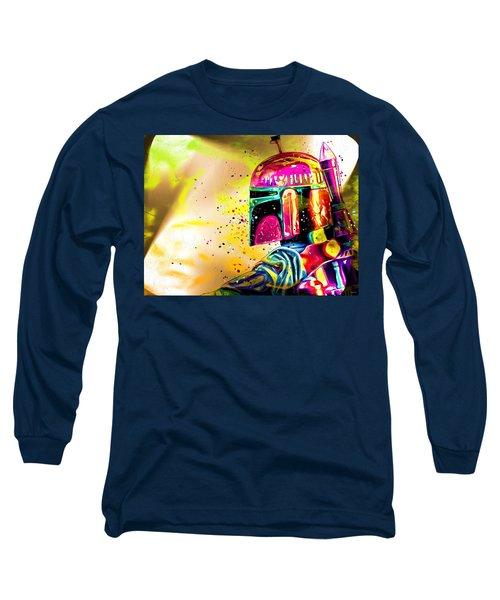 Boba Fett Star Wars Long Sleeve T-Shirt