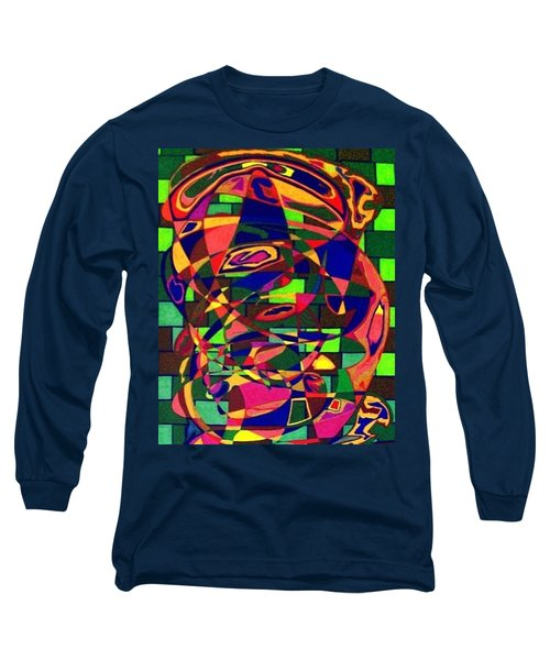 Long Sleeve T-Shirt featuring the painting Bulwark by Jonathon Hansen