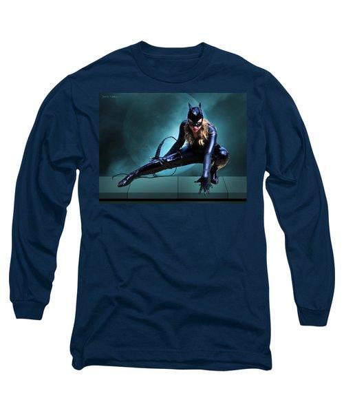The Feline Fatale Long Sleeve T-Shirt