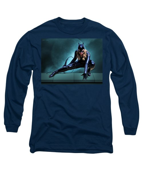 The Feline Fatale Long Sleeve T-Shirt